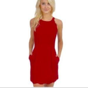 Worn Once Lauren James Seersucker Landry Dress